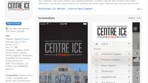 CENTRE ICE FITNESS NEW MOBILE APP