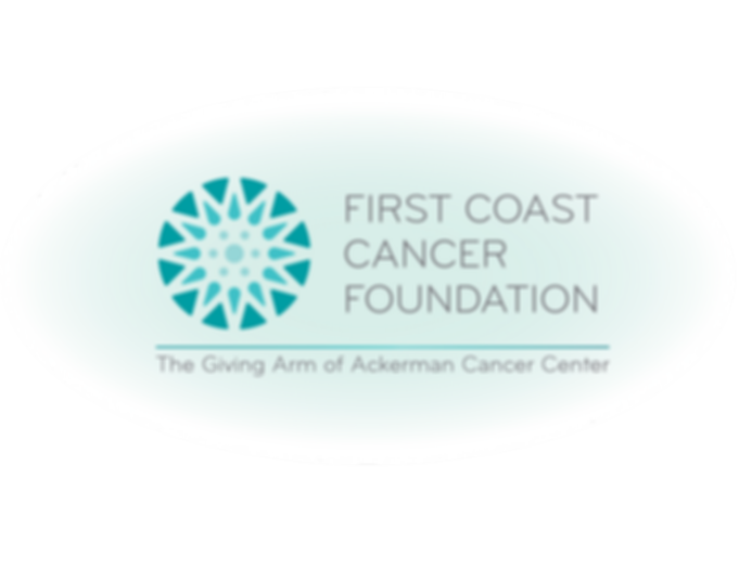 First Coast Cancer Foundation Logo - wit