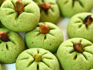 Pistachio Ghoriba(Algerian cookies)