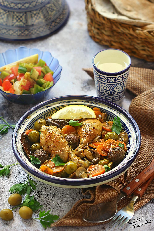 Algerian olive tajin