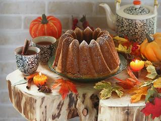 Pumpkin cake,كيكة القرع