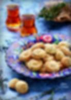 thyme shortbread cookies