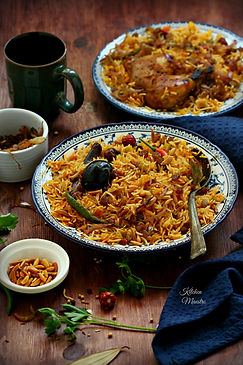 Kabsa rice
