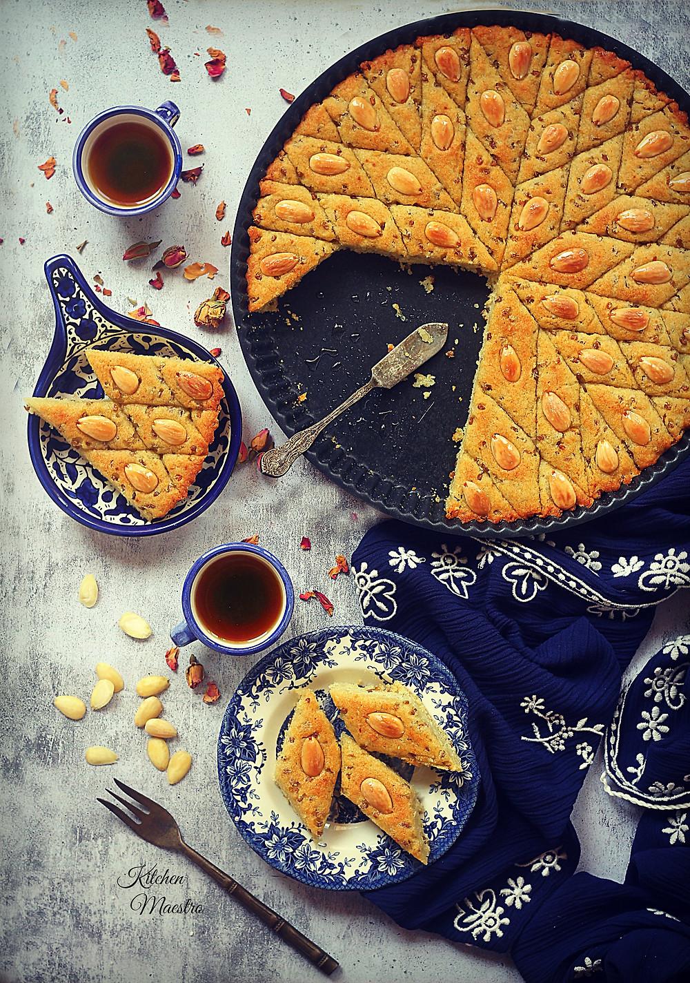 Helbeh cake