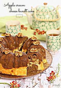 appla creamcheese bundt cake