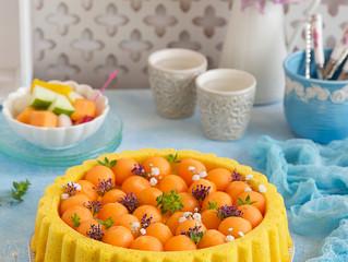 Melon cake/كيكة الشمام
