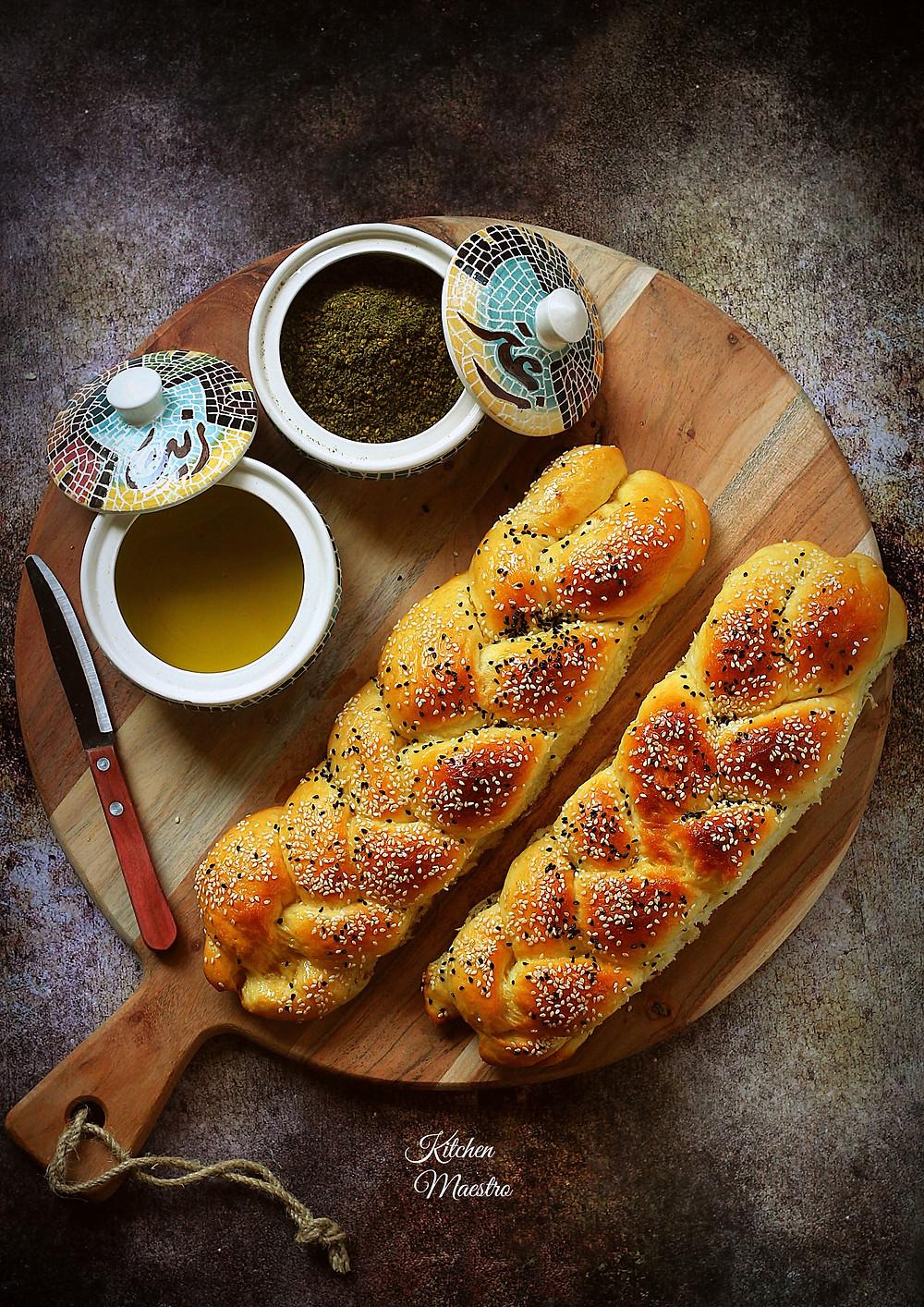 Ma'arouk bread