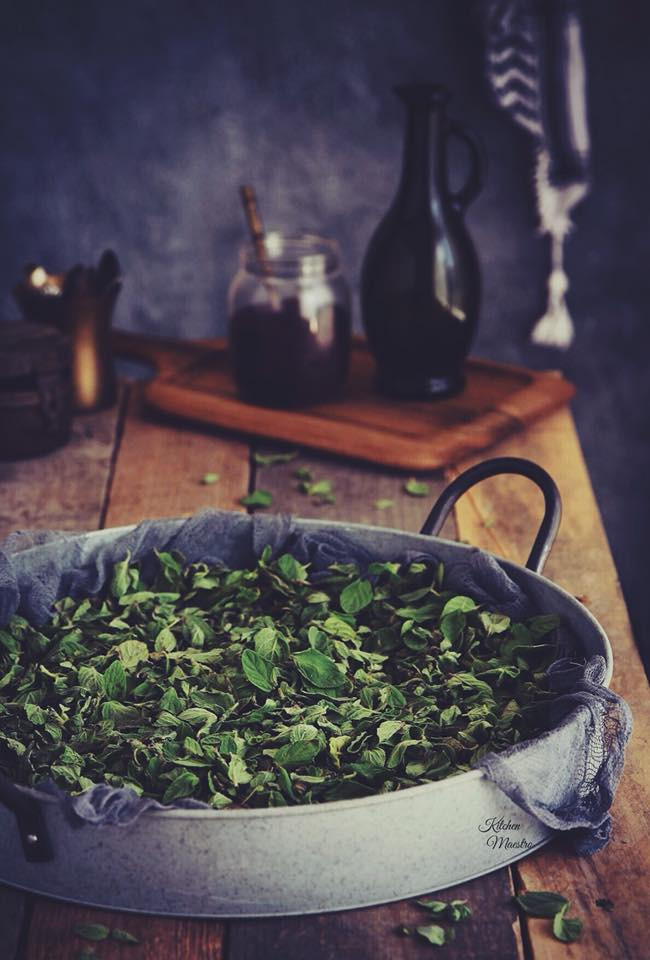 Zaatar leaves