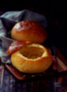 homemade bread bowl