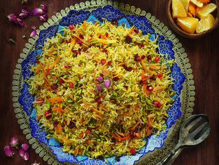 Persian jeweled Rice