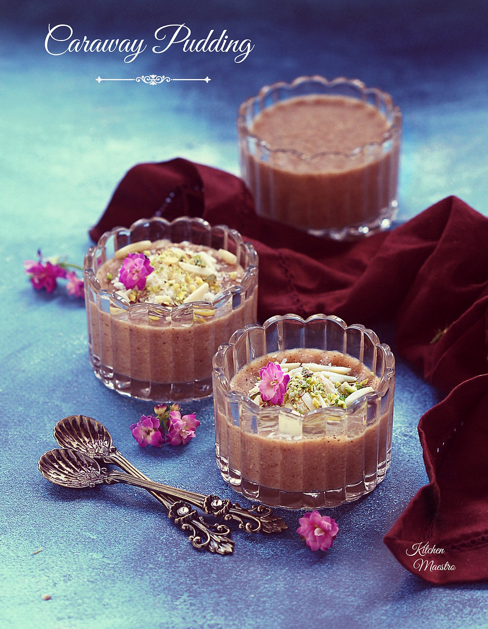 Caraway pudding