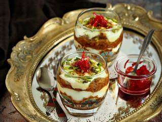 Eish El Saraya (Middle eastern Dessert)