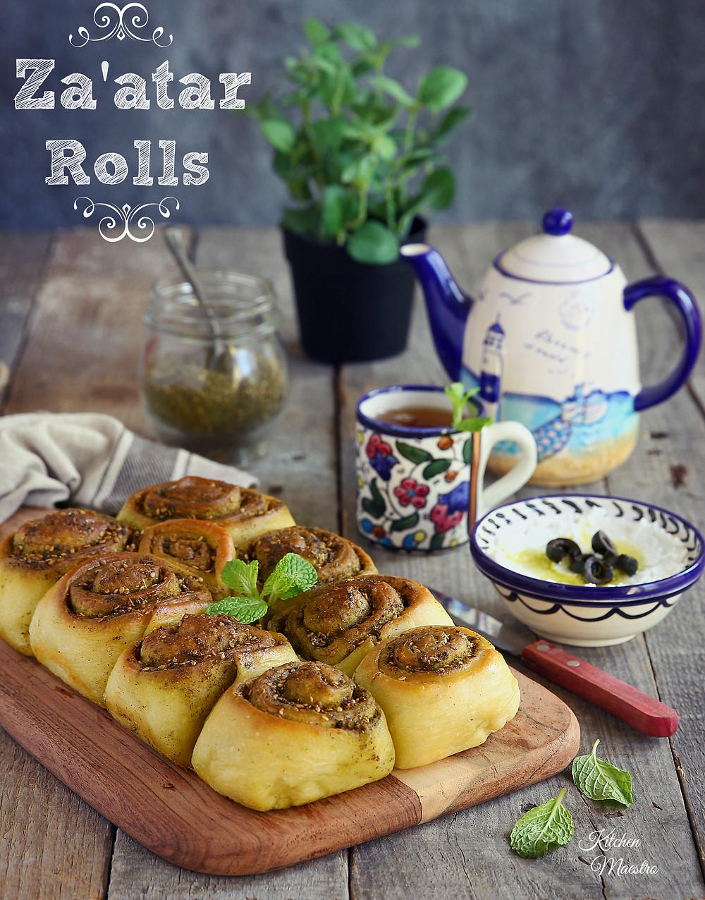zaatar rolls