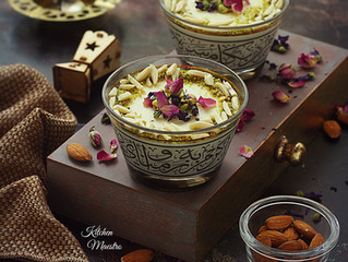 Keshk El Omara(Sweet almond/rice pudding)
