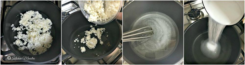 Halawet el jibn making