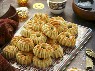 Ma'amoul (Middle eastern date-filled cookies)