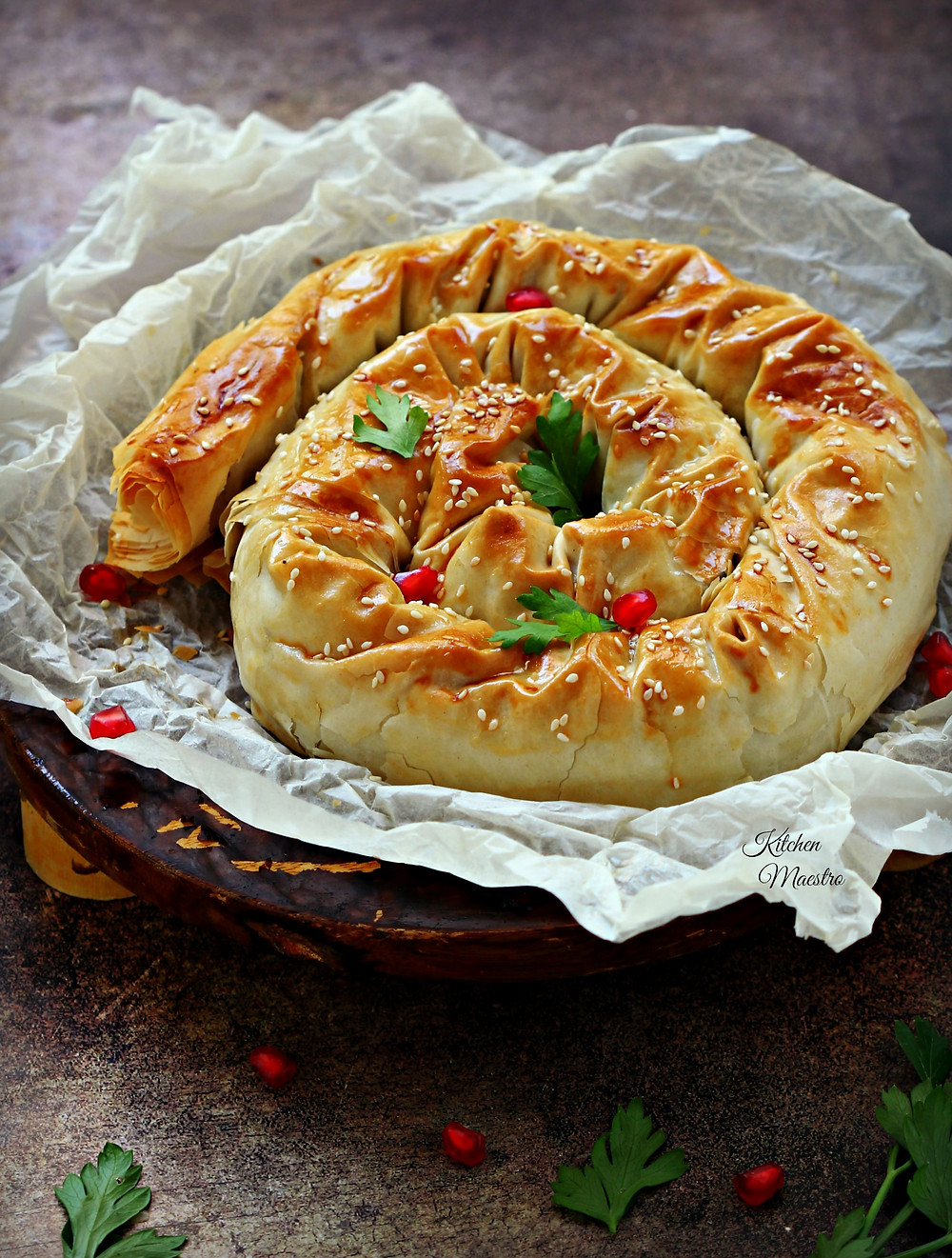 stuffed burek