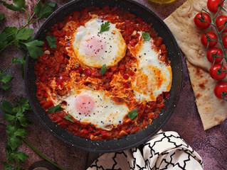 Shakshuka (Middle eastern dish)