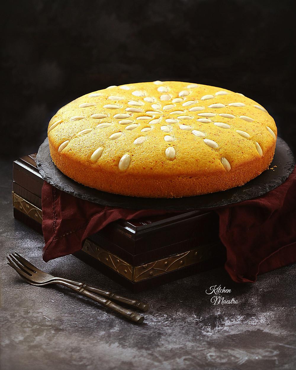 Sfouf cake