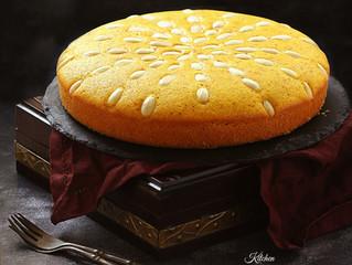 Sfouf (Semolina turmeric cake)