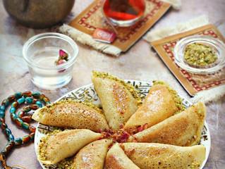 Atayef,Qatayef(Middle eastern Pancakes)