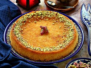 Kunafa (Middle eastern dessert)