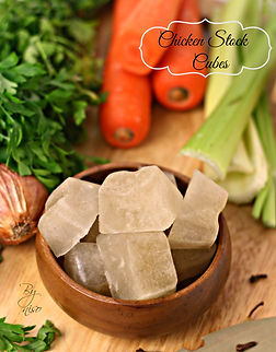 chicken cubes stock
