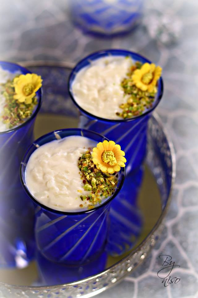 coconut milk rice pudding