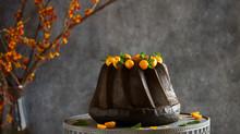 Black sesame Cake كيكة القزحه(حبة البركه)