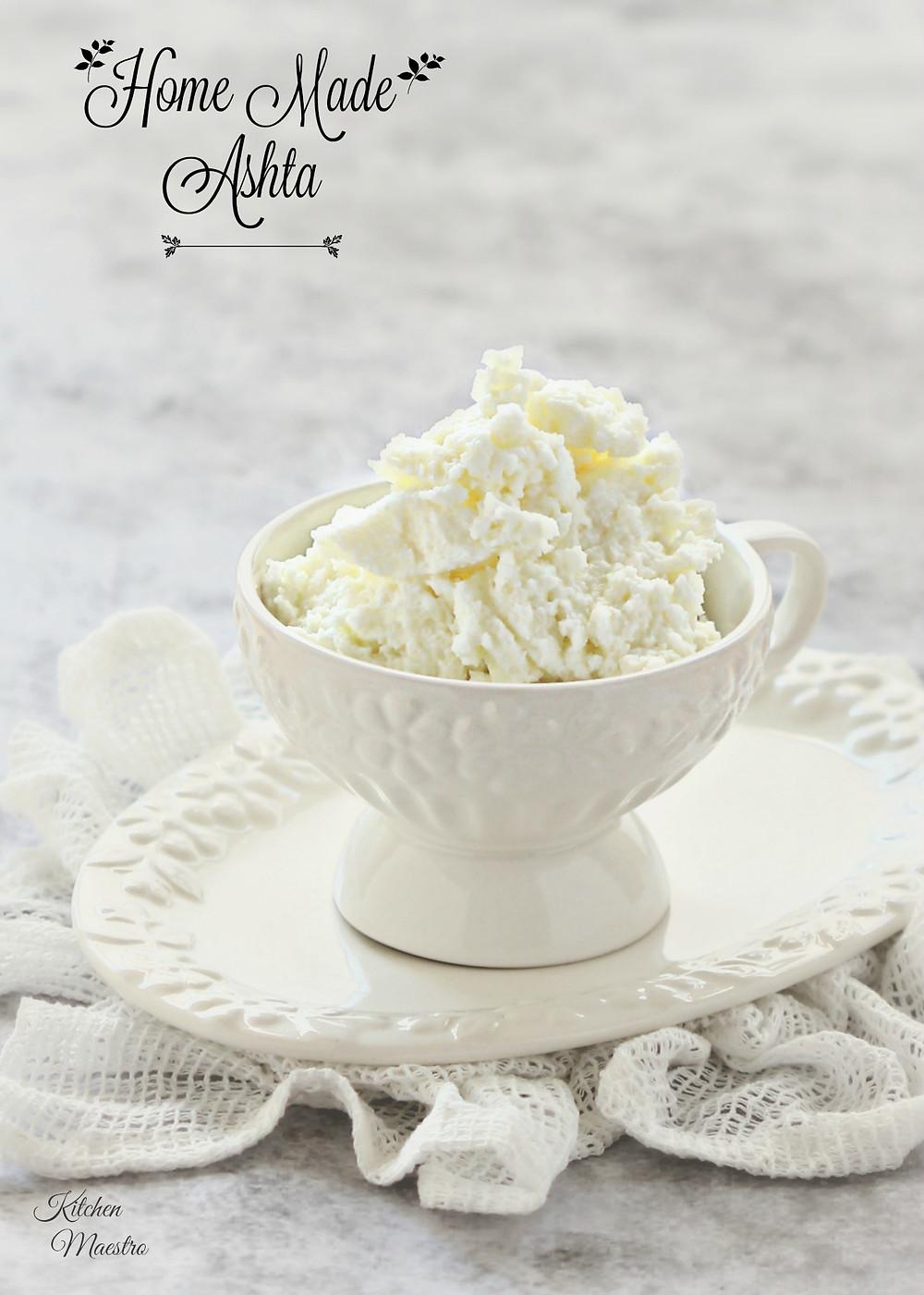 Ashta,clotted cream