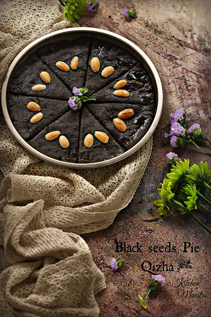 Black cumin pie