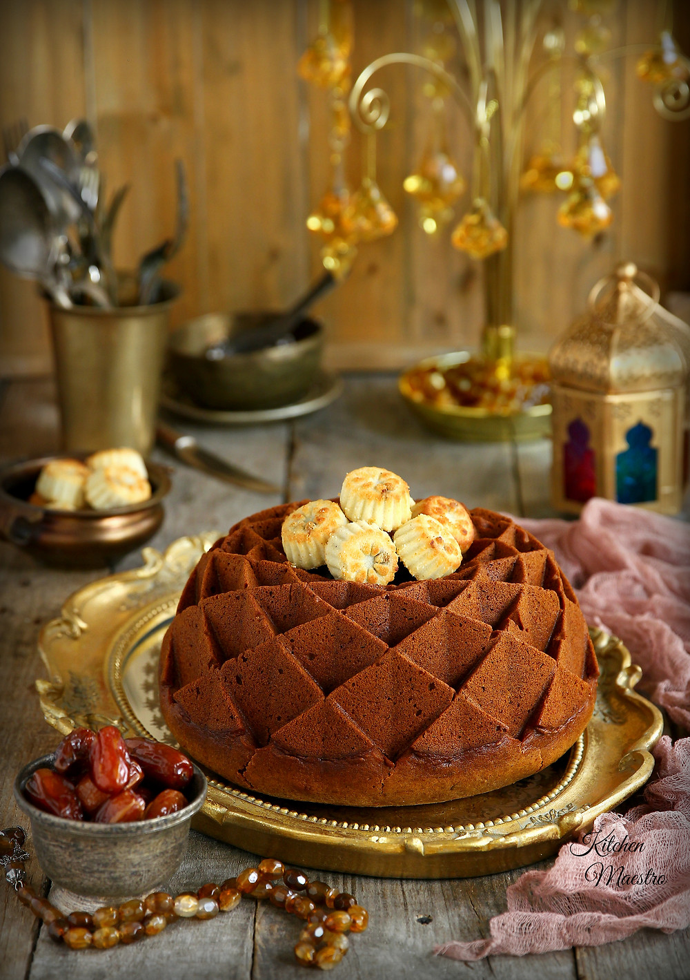 date bundt cake