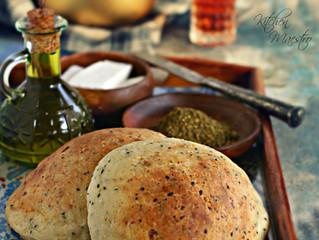 Ftoot Bread(Palestinian bread)