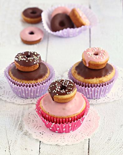 doughnut cupcakes