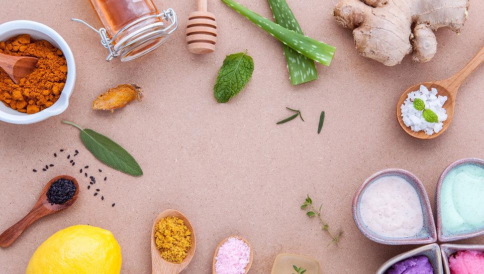 Ingredientes naturais