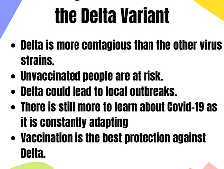 The New Kid on The Block: Delta Variant