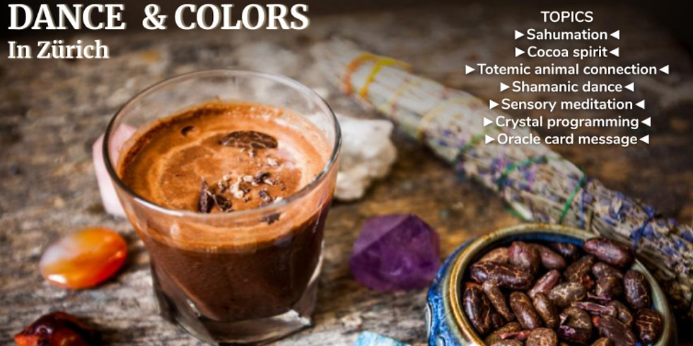 Cocoa Healing Ceremony, Dance & Colors