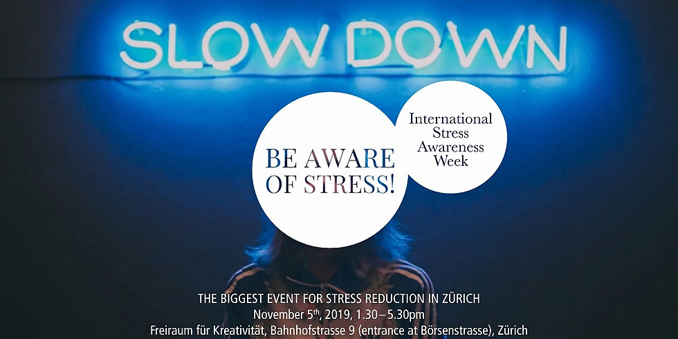 SLOW DOWN AND REDUCE STRESS