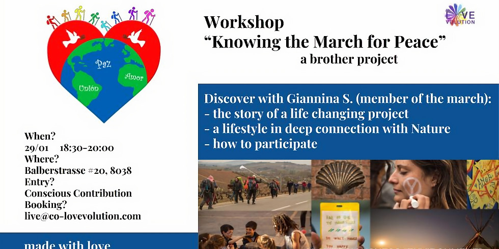 """Knowing the """"March for Peace"""""""