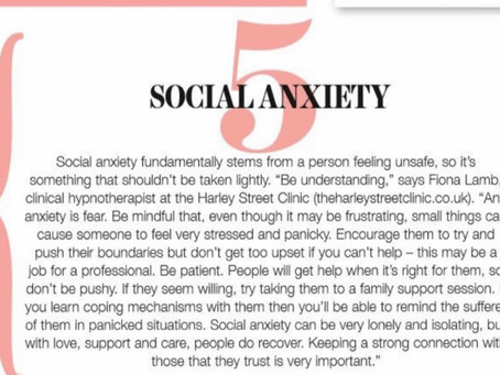 Social Anxiety - Health and Wellbeing Magazine