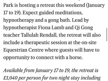 Sleep Retreat - Evening Standard