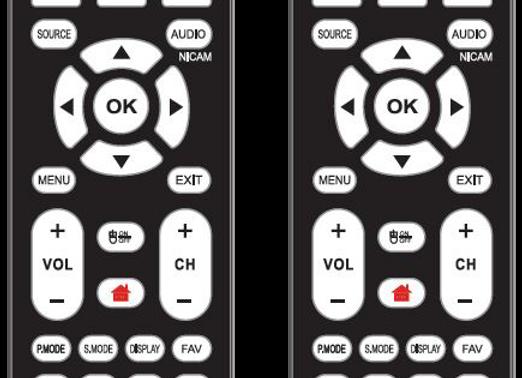 TELECOMANDO TV BOLVA