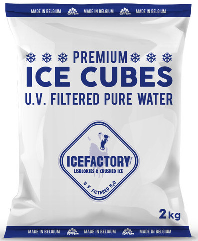 Icefactory Ice Cubes 2kg