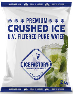 Icefactory Crushed Ice 2kg