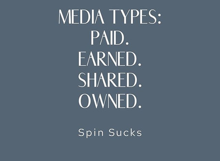 Paid. Earned. Shared. Owned. The 4 media types and why you need them.