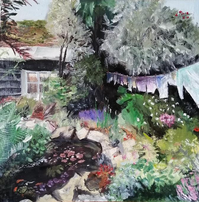 Mothers Garden From The Studio