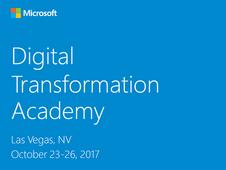 eLogic is a Platinum Industry Sponsor at Microsoft's US Digital Transformation Academy