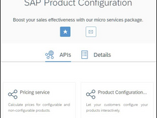 Top 5 reasons to use SAP Product Configuration APIs