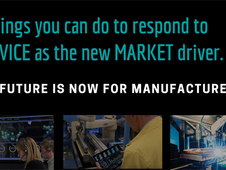 What Leading Global Manufacturing Executives are Saying about their Strategies for Service and IoT