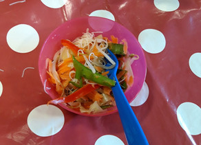 Kids Kitchen Online: Oriental Noodle Salad 8th of September